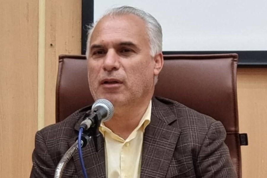بازدید معاون منابع انسانی بانک ملی از استان گیلان
