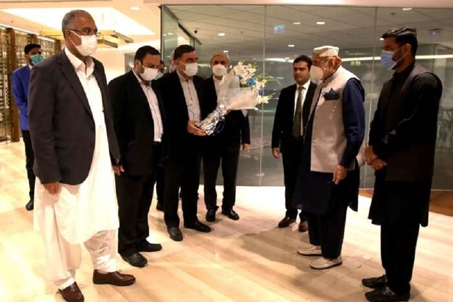 ورود هیئت گروه دوستی پارلمانی ایران و پاکستان به اسلامآباد