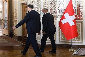 تصویر  رئیس مجلس سوئیس با حسین امیرعبداللهیان دیدار و گفتگو کرد