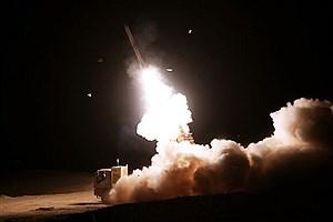 تصویر  شلیک موفقیت آمیز سامانههای «جوشن و خاتم» پدافند هوایی ارتش به اهداف متخاصم