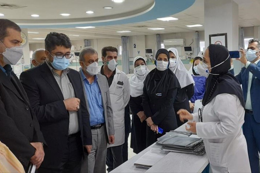 بازدید سرپرست سازمان تامین اجتماعی از بیمارستان امیرالمومنین (ع) اهواز