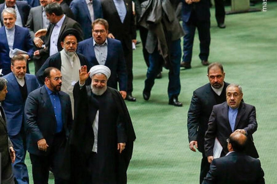 تصویر تخلفات دولت روحانی طبق قانون در قوه قضاییه پیگیری میشود