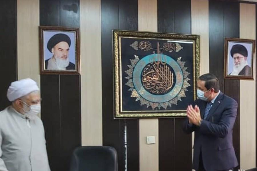 استقبال سفیر سوریه از آغاز فعالیت بیمه ملت در سوریه