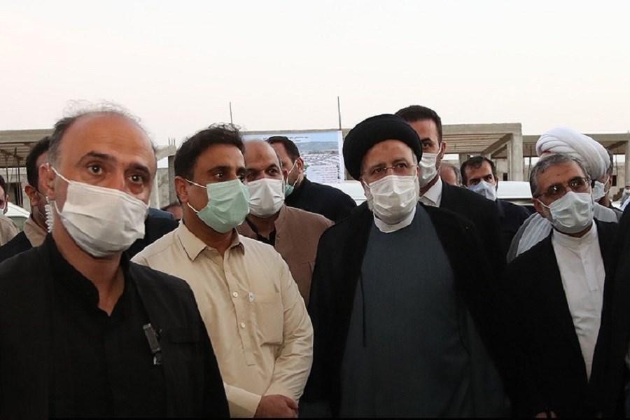 رئیس جمهور از کارخانه آزمایش بازدید کرد