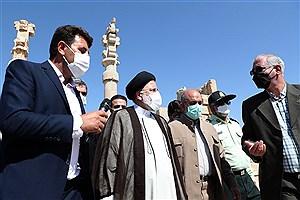 تصویر  بناهای تاریخی نشان از هنر والای ایرانیان است