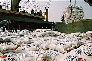 تصویر  توزیع ۱۵۰ هزار تن برنج وارداتی در بازار