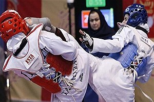 تصویر  دختران ایران قهرمان شدند