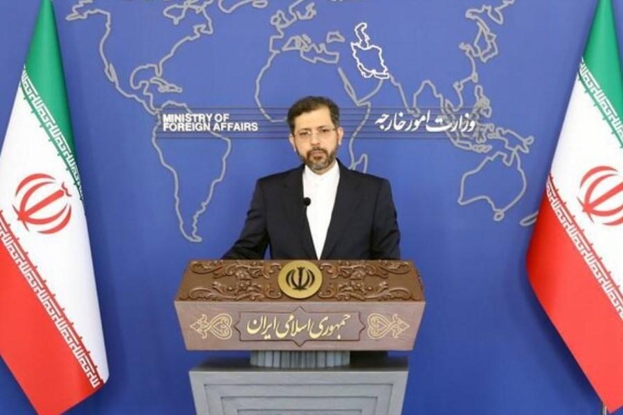 تصویر ادعاهای رئیس جمهور آذربایجان علیه ایران کذب است