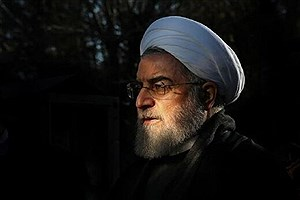 تصویر  روحانی جلسات هیات دولت را هم مجازی برگزار میکرد چه برسد به کار میدانی!