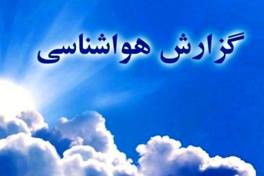 دمای اهوا در اغلب نقاط خوزستان کاهش مییابد