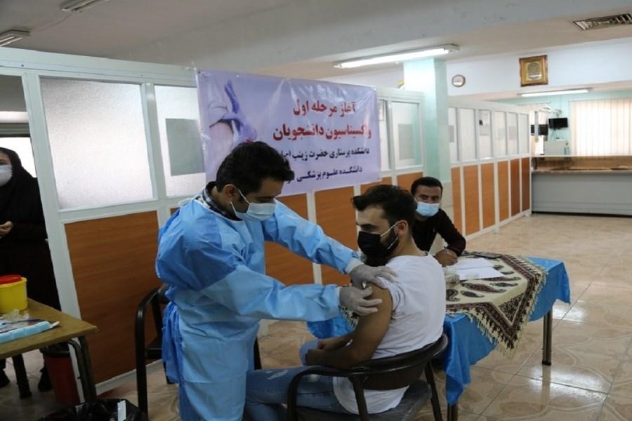 واکسیناسیون آنفلوانزا دانشجویان دانشگاه علوم پزشکی تهران آغاز شد