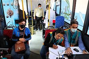 تصویر  واکسیناسیون اتوبوس سیار شهرداری منطقه۸ آغاز شد