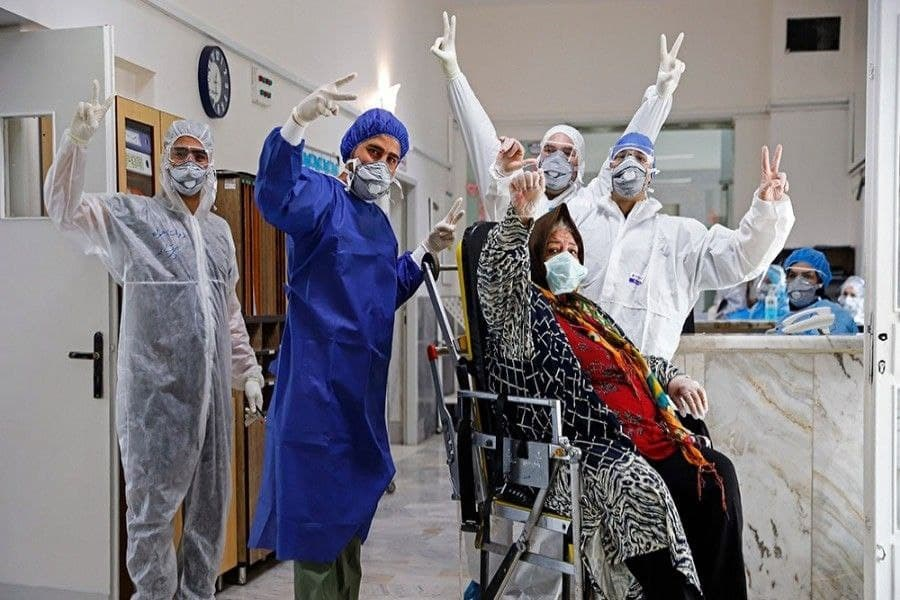 تصویر بهبودی ۹۷ درصدی بیماران مبتلا به کرونا در فارس
