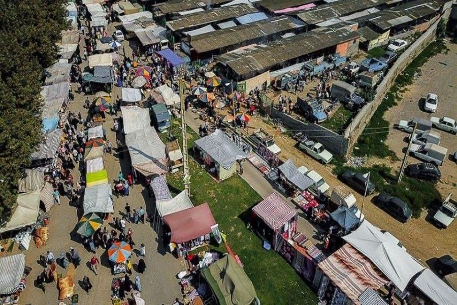 تصویر از سرگیری فعالیت جمعه بازار جویبار از ۳۰ مهرماه