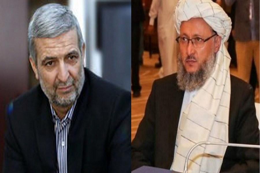 دیدار نماینده ویژه رئیسجمهور ایران با هیات طالبان در مسکو