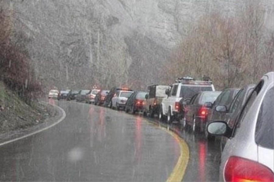آخرین وضعیت جادههای شمالی
