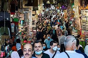 تصویر  نقشه کرونایی ایران قرمزتر شد/ آبی ها رنگ باختند