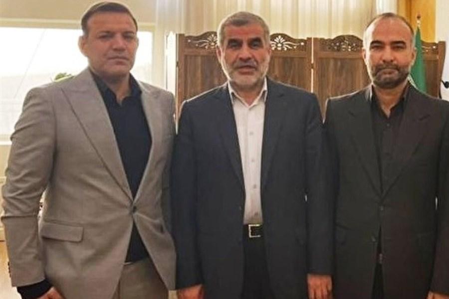 دیدار عزیزی خادم  با نایب رئیس مجلس
