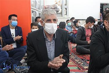 تصویر جشن نیمه شعبان در «توپ آغاج» کردستان