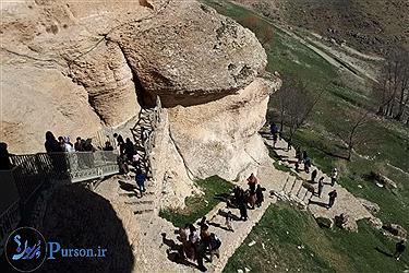 تصویر کردستان و مسافران نوروزی در ایام عید