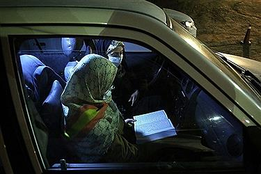 تصویر احیای شب بیست و یکم ماه رمضان در همدان