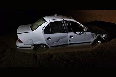 تصویر تصاویری از سیل شب گذشته در اردکان یزد