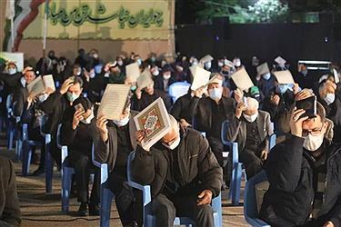 تصویر مراسم احیاء شب بیست و یکم ماه مبارک رمضان _ارومیه