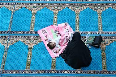 تصویر مراسم احیاء شب بیست و سوم ماه مبارک رمضان_ ارومیه