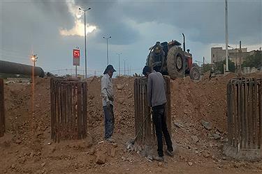 تصویر بازدید از پروژه های عمرانی شهرداری اراک