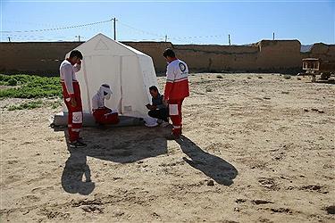 تصویر امداد رسانی به زلزله زدگان سنخواست خراسان شمالی همچنان ادامه دارد