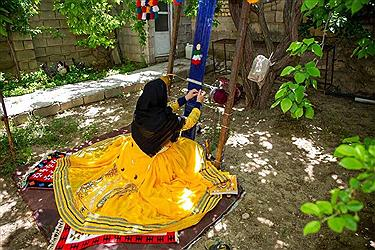 تصویر روستای مهرگرد سمیرم ؛ روستای ملی بافته های داری