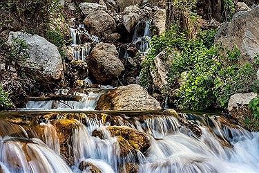 تصویر آبشار وارک لرستان