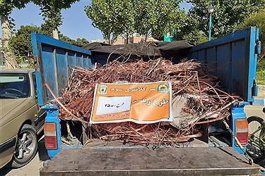 تصویر طرح رعد ۴۵ پلیس پیشگیری پایتخت کلید خورد