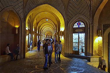 تصویر کاروانسرای سعد السلطنه شاهکار معماری ایرانی