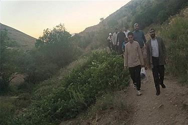 تصویر همایش کوهنوردی بسیجیان و طلاب شهر سنندج