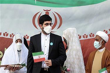 تصویر جشن عروسی دختران انقلاب