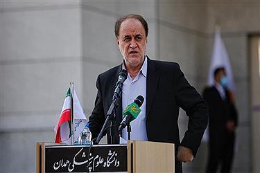 تصویر افتتاح فاز نخست مرکز جامع سرطان بنیاد مرحوم فرشچیان در همدان