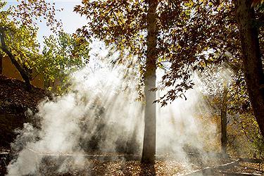 تصویر زیبایی های نُغُندَر مشهد در پاییز