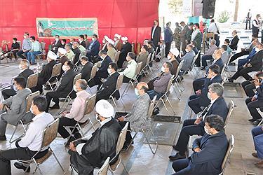 تصویر برگزاری یادواره شهدای کارمند در یزد