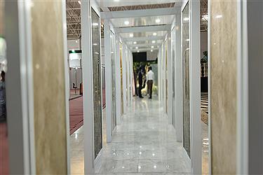 تصویر افتتاحیه سیزدهمین نمایشگاه بینالمللی سنگ در محلات